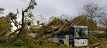Photo: Bilan de la tempête Aurore sur la moitié nord de la France en nuit du 20 au 21 octobre 2021